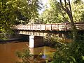 Newton Wellesley Lower Falls Pedestrian and Bicycle Bridge, Wellesley MA.jpg