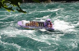Niagara Gorge - Image: Niagara Gorge jet boat