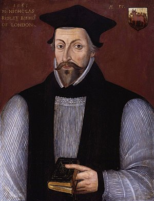 Bishop of London - Image: Nicholas Ridley from NPG