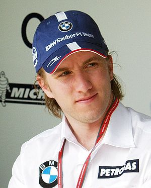 Nick Heidfeld at Nürburgring, 2006