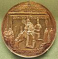 Nikolaus schwabe, cristiano IV di danimarca, arg dorato, 1598.JPG