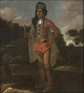 Robin Cassacinamon Pequot Indian governor