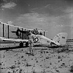 No. 3 Squadron RCAF Wapiti No. 510 with Sergeant pilot Frank Pearce.jpg