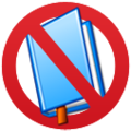 No enciclopedic book icon.png