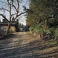 Noordoosten van het klooster, pad richting hekwerk - Steijl - 20342007 - RCE.jpg