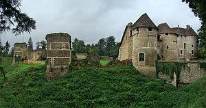 Château d'Harcourt - Image: Normandie Eure Harcourt tango 7174