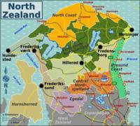 karta över nordsjälland Nordsjälland – Wikipedia karta över nordsjälland