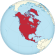 North America on the globe (red).svg