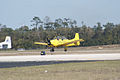 North American T-28A Trojan USAF N9102Z Waiting TICO 13March2010 (14576476906).jpg