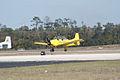 North American T-28A Trojan USAF N9102Z Waiting TICO 13March2010 (14576476906).jpg