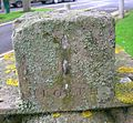 North face detail - Kirkhall Scottish Sundial, Ardrossan..JPG