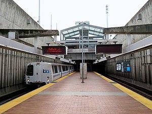 Northbound Train At Balboa Park Station, March 2018.JPG