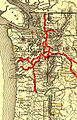 Northern Pacific Railway map circa 1900 Western Washington.jpg