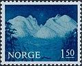 Norwegian stamp NK570 vinternatt i Rondane.jpg