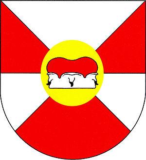 Nové Sedlo (Louny District) - Image: Nové Sedlo znak