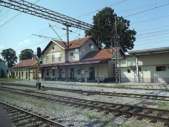 Novska - Novska railway station