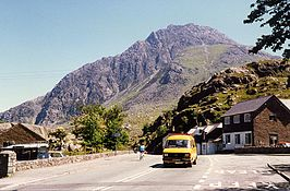 De berg Tryfan in Snowdonia is 915 meter hoog
