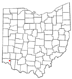 Location of Kenwood, Ohio