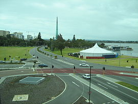 OIC perth 2008 view of esplanade from PCEC.jpg