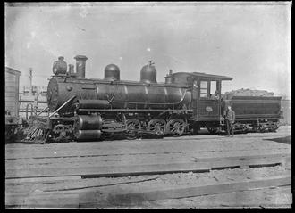 NZR OA class - Oa class 2-8-0 steam locomotive NZR number 457