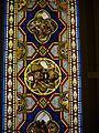Oberhofen Schloss Oberhofen Innen Raum mit Glasmalereien 08.JPG
