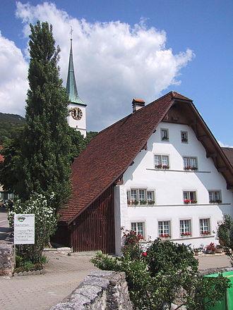Oensingen - Oensingen village