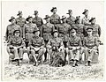 Offficers of the 6th Garrison Battalion at Brighton Camp (c1950) (13705023174).jpg
