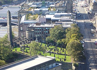 Old Calton Burial Ground - Image: Old Calton Burying Ground, Edinburgh