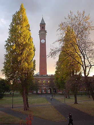 Joseph Chamberlain Memorial Clock Tower - Old Joe, the University Clock Tower