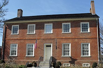 Old Governor's Mansion (Frankfort, Kentucky) - Image: Old Kentucky Governor's Mansion