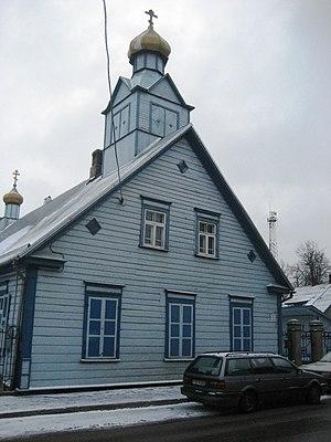 Jēkabpils - Image: Old believers church Jekabpils