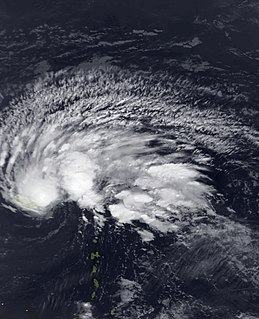 Tropical Storm Olga (2007) Atlantic tropical storm in 2007