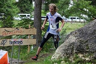 Olli-Markus Taivainen Finnish orienteer