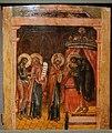 Olsztyn Zamek Ekspozycja Ikon Ofiarowanie Chrystusa w swiatyni Ukraina XVII wiek.JPG