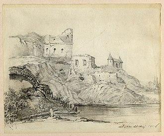 Olyka Castle - Radziwill Fortress in Olyka by Józef Ignacy Kraszewski
