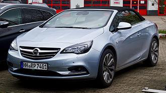 Opel Cascada - Image: Opel Cascada 1.6 EDIT Innovation – Frontansicht, 23. März 2014, Düsseldorf