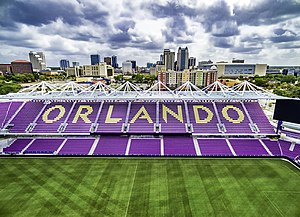 Orlando City Stadium - Aerial view of Orlando City Stadium