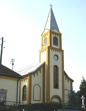 L'église catholique Saint-Michel-Archange à Trešnjevac