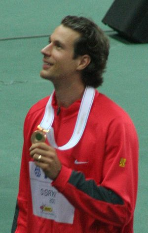 Danny Ecker - Ecker at the 2007 World Championships