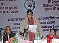 Oscar Fernandes delivering the inaugural address at the inauguration of the 'Regional Labour Institute, Faridabad' and the '49th Conference of Chief Inspectors of Factories', at Faridabad in Haryana on February 10, 2009.jpg