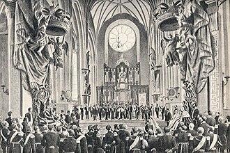 1873 in Sweden - Image: Oscar II of Sweden & Sofia of Sweden coronation 1873