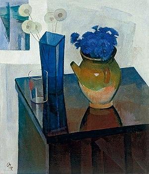 Sergei Osipov (artist) - ''Cornflowers''. 1976