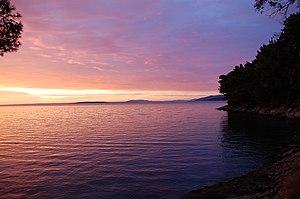 Osor, Croatia - Sunset in Osor