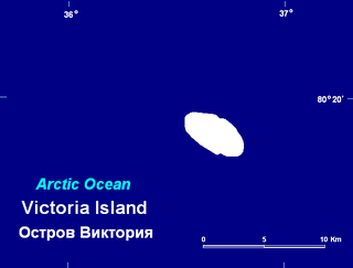 island in Russian Arctic