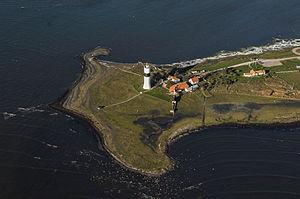 Swedish Ornithological Society - Ottenby birdwatching station, owned by the SOF at Långe Jan lighthouse on Öland.