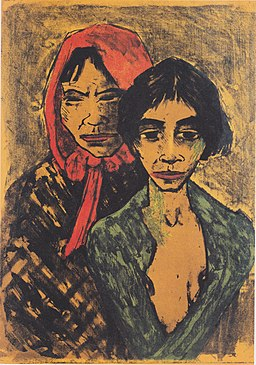 Otto Mueller - Dwie cyganki - 1926-27