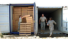 Over 1,000 wheelchairs transferred to Iraq in 40-ft. containers DVIDS147337.jpg