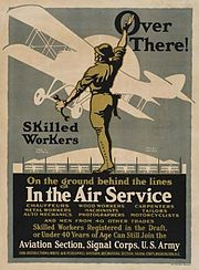 American recruitment poster by Louis D. Fancher