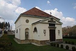 Overview of Haugwitz crypt in Náměšť nad Oslavou, Třebíč District.jpg