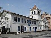 Pátio do Colégio, primeira construção erguida na cidade.